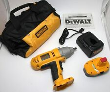 New DeWalt High Torque Impact Wrench Kit DW059K 18V Battery Charger Case No Box