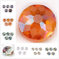 Frosted Glass Bead Faceted Crystal 14mm 18mm Spacer Loose Beads Jewelry Findings