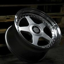"17"" DARE DR-F5 ALLOY WHEELS FITS VW GOLF PASSAT CADDY EOS"