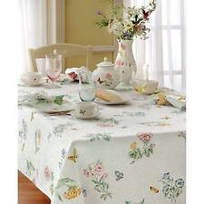 Lenox Butterfly Meadow 60 inch by 84 inch Oblong / Rectangle Tablecloth