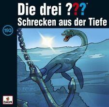 Schrecken aus der Tiefe / Die drei Fragezeichen - Hörbuch Bd.193 (1 Audio-CD)