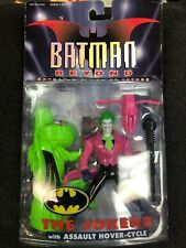 Batman Beyond The Jokerz with Assault Hover-Cycle New on Card