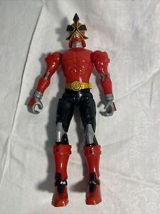 Power Rangers Samurai Super Shogun Red Battlized 10in.  Figure Bandai 2010 Loose
