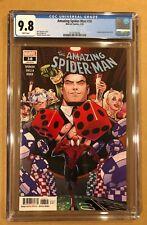 AMAZING SPIDERMAN # 38 CGC 9.8! (3/20). LEGACY # 839.