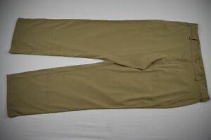 Nike Dress Pants Men's Khaki Poly Used 34x30