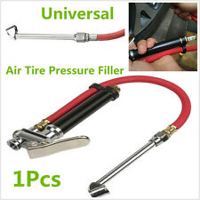 Car Motorcycle Air Tire Pressure Tire Meter Filler Dual Chuck Inflator Gun Gauge
