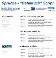 Proverbios-me gusta script-PHP-script
