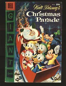 Walt Disney's Christmas Parade # 8 - Dell Giant VG/Fine Cond.