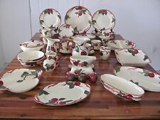 Franciscan Apple China 81 Pc Set for 8, Many Serving Pieces
