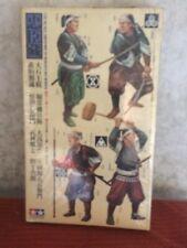 Vintage Tamiya 1/35 Japanese Samurai ((8 Figures, Historical Miniatures Series)