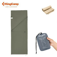 KingCamp Envelope Sleeping Bag Liner 100% Cotton Soft Compact Travel Camping