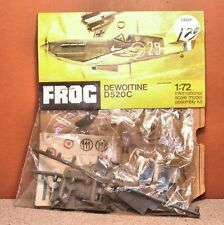 1/72 FROG DEWOITINE D520C BAGGED MODEL KIT # F222F