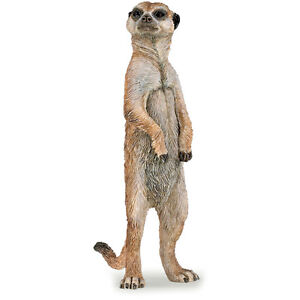 PAPO Wild Animal Kingdom Meerkat Figure, STANDING NEW