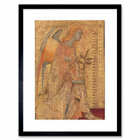 Painting Allegory Christian Martini Angel Annunciation Framed Print 12x16 Inch