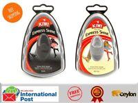 Kiwi Express Shine Shoe Polish Instant Shine Sponge 5ml Black & Neutral