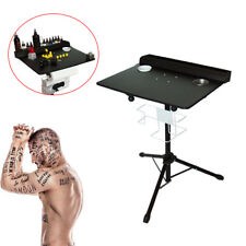 Adjustable Tattoo Tray Work Station Drawing Equipment Supply Desk Table Mobile