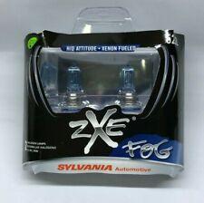 Fog Light Bulb-SilverStar zXe Plastic Box Twin Front,Rear Sylvania 5202SZ.BB2