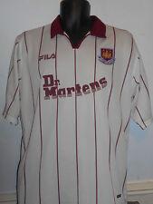 West Ham United Away Dr. Martens Maglietta Da Calcio (2002/2003) Grandi Da Uomo #231