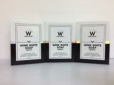 Wink White Soap, Glutathione, ***NEW*** Rejuvenating, Skin Whitening, (3 x 80g)