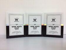 Wink White jabón, glutatión, *** nuevo *** Rejuvenecedor, blanqueamiento de la piel, (3 X 80g)
