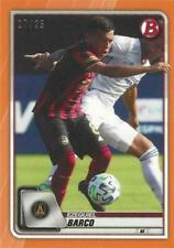 2020 Topps Bowman Major League Soccer Orange Parallel /25 MLS (#1 - #100) MLS