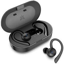 Axloie Sports Wireless Earbuds Bluetooth 5.0 Headphones True Wireless Dee... New