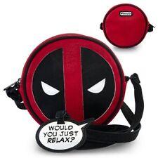 Loungefly NEW * Deadpool Crossbody Purse * Marvel Bag Handbag Vegan 7.75 Inches