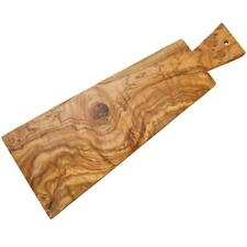 "OLIVE WOOD APPETIZER CUTTING / SERVING BOARD  16.5"" (OL321)"