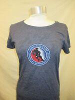 Hockey Hall of Fame Womens Small Shirt Blue NHL