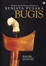 Book Senjata Pusaka Bugis Keris Kris Kriss Krissen Hardcover Original BUCSPB