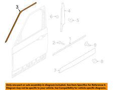 LAND ROVER OEM 17-18 Discovery Front Door-Upper Molding Trim Left LR082896