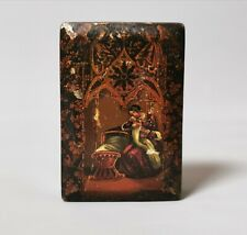 More details for antique snuff box, tobacco box, early 19th century, mother and child