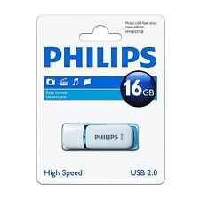 PHILIPS 16GO USB 2.0 NEIGE EDITION MÉMOIRE FLASH/ CLÉ DE /CLÉ /