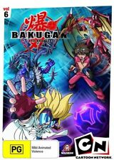 B24 BRAND NEW SEALED Bakugan : Vol 6 - Time For Battle (DVD, 2010)