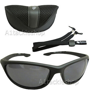 Wychwood Wrap Polarised Fishing Sunglasses Sun Glasses SMOKE