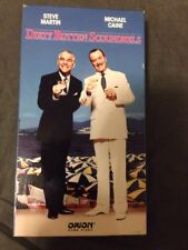 Dirty Rotten Scoundrels (VHS 1988) Steve Martin, Michael Caine, Glenne Headly