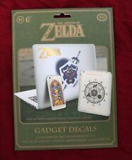 Official Licensed Nintendo Legend Of Zelda 21 Gadget Decals Waterproof Removable