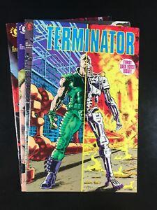 Terminator 1 2 3 4 Complete Dark Horse 1990 Warner Guinan Arcudi F8