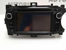 TOYOTA YARIS NAVI/CD/RADIO PLAYER HEAD UNIT 86140-0D020 / 11086666