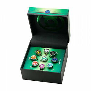 Green Lantern Collector All Lantern Corps Ring Set Multi-Color