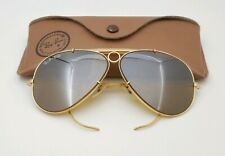 Vintage B&L Ray Ban Bausch & Lomb RB50 Ultra 62mm Shooter Sunglasses w/Case