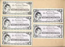 Canada Nice Lot of 5 Commercial coupons paper money note Economatic