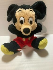 """Mickey Mouse Stuffed Toy. Licensed Product Approx. 9"""" Disney."""
