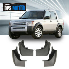 OE 4 Pcs Front Rear Splash Mud Guards Flaps For 05-07 Land Rover Discovery 3 LR3