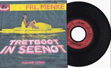 "FRL. MENKE -Tretboot In Seenot / Tag Des Herrn- 7"" 45 Polydor Records"