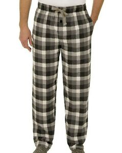 Fruit Of The Loom Pajama Woven Flannel Sleep Pants Cotton Blend Men's Size Large