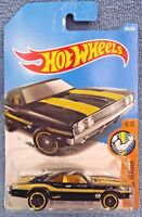 2017 Hot Wheels #285 Muscle Mania 6/10 '69 DODGE CHARGER 500 Black w/Mooneyes