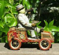 Early 1900s Lehmann Tut Tut Wind Up Tin Litho Car All Original