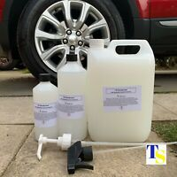 TS Disinfectant 1L & Spray ZESTY (99% Antibacterial car home surfaces fabrics)