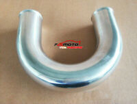 "1.5"" inch 38mm 180 Degree L=600mm Aluminum Turbo Intercooler Piping Tube hose"